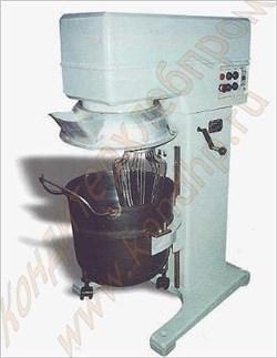 Взбивально-тестомесильная машина МВУ-60 - фото 4726