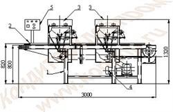 Машина для отливки конфет в силиконовые формы ШОЛ-2М-С - фото 5068