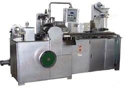Машина YTB-300 формирования цепью плоского леденца на палочке типа (чупа-чупс) с автоматической подачей на автомат завертки во флатовую упаковку - фото 5332