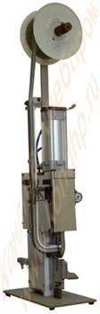 Клипсатор пневматический  КК-120 для пакетов на плоской клипсе с клеймением даты - фото 5401