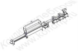 Автоматическая линия для производства лаваша (армянский лаваш овальной, круглой и прямоугольной формы) - фото 5403
