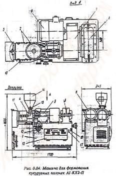 Экструдер для формования кукурузных палочек А1-КХ2-П - фото 5565