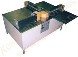 Машина для прокатки по толщине и резки дисковыми ножами в  продольном и поперечном направлении конфетных масс - фото 5581