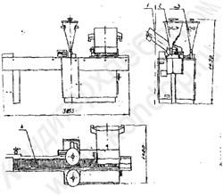 Машина отделочная пирожных «Эклер» (заполнение кремом и глазирование) А2-ШЛЭ/7 - фото 5587