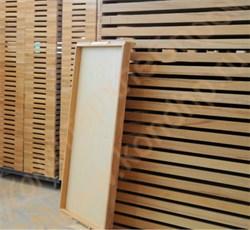 Лотки деревянные для формования ячеек матриц в крахмале при отливке желейных, ликерных, помадных  конфет (аналог Starch tray, «Treiber», Германия) на машинах ШОЛ, ЦФ-1, ЦФ-2 - фото 5767