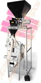 Фасовочно-упаковочный полуавтомат для сыпучих продуктов ДУП-3000 - фото 5779