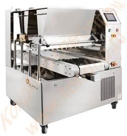 Тестоотсадочный двухбункерный универсальный автомат для производства широкого ассортимента кондитерских изделий DUOMAX CNC - фото 5782