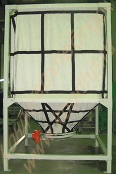 Бункер накопительный тканевый для сыпучих продуктов БНТ-2/5/10 - фото 5832