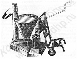 Мукопросеиватель ПМ-1000 с устройством подъема и опрокидывания мешков - фото 5836