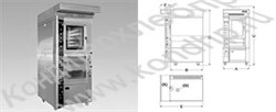 Этажные конвекционные подовые печи (для выпечки хлеба и кондитерских изделий) - фото 5871