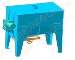 Смеситель сыпучих компонентов ССК-450/750/1000 горизонтальный - фото 5979