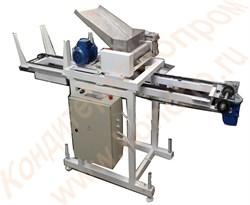 Машина для изготовления пряников и печенья А2-ШФЗ-400 и А2-ШФЗ-600 с укладкой изделий на ленточный транспортер с противнями - фото 6179