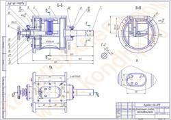 Сборочный чертеж головки к тестоделителю «Кузбасс-68-3М», год выпуска после 2008