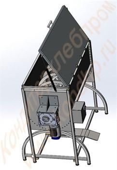 Смеситель ленточного типа для сыпучих компонентов ССК-500 - фото 6274