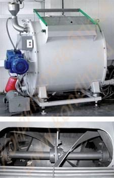 Смеситель универсальный сухих (сыпучих)  и жидких (вязких) компонентов ССВК-700 - фото 6300
