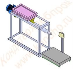 Весовой дозирующий комплекс для затаривания клапанных мешков - фото 6356