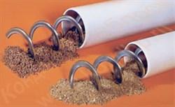 Отводы SP55; SP 75; SP 90; SP125 -прямые и изогнутые трубы из нержавеющей и углеродистой стали с одним раструбом - фото 6419