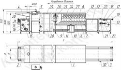 Печь тоннельная кондитерская универсальная ПТК-650/950 (У)