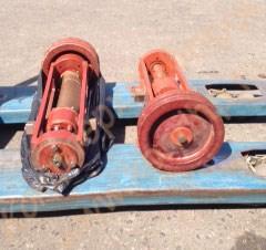 Механизм траверсы подъема в сборе со шкивом 3-х ручьевым к т/м Л4-ХТВ - фото 6524