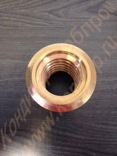 Гайка ходовая бронзовая к винту стальному одновинтовых дежеопрокидывателей: А2-ХДЕ для дежи на 140 литров и А2-ХП2Д-1; А2-ХП2Д-2 для дежи на 330 литров - фото 6553