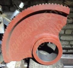 Сектор червячный к тестомесильной машине ТМ-63 - фото 6572