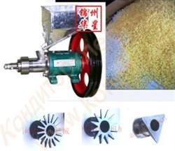 Экструдер одношнековый (мини) пищевой, производительностью 15-20 кг/час (маленькие воздушные шарики 4-5 мм) - фото 6682