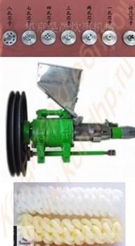 Экструдер одношнековый (мини) пищевой, производительностью 15-20 кг/час (косички 2 вида, крестики, пластинки, палочки, трубочки) - фото 6683