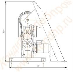 Мешкоопрокидыватель электромеханический цепной М-60 (Ц) - фото 6695