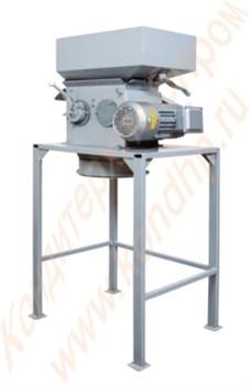 Дробилки двухвальцевые различной производительности для измельчения хлебно-кондитерских отходов,  зерновых злаковых культур   ДВ-250/ДВ-500/ДВ-800