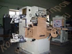 Машина для завертки корпусов конфет круглой, прямоугольной и продолговатой формы с плотной, твердой или пастообразной начинкой в «носок» EL-5 Nagema (Германия) - фото 6740