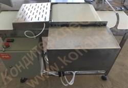 Машина  горизонтальной резки  бисквитных и хлебобулочных изделий на 3 части с двумя ножами - фото 6758