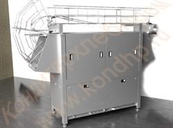 Машина моечная для пластмассовой и деревянной тары,  кондитерских и хлебных лотков, ящиков и их крышек - фото 6766