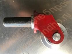Колесо переднее d=95мм; d=85 мм поворотное стальное (чугунное) в сборе с вилкой к каретке дежи  Т1-ХТ2Д  объемом  330 литров;  А2-ХТД объемом 140 литров