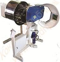 Машина тестомесильная двухскоростная «Интенсив-200» с механизированной выгрузкой и площадкой для фиксации дежи - фото 6813