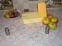 Нож для нарезания брикетов (кусков) масла, сыра струнный - фото 6966