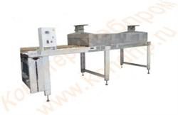 Конвейер для перемещения кондитерских изделий и их паровой обработки - фото 6976