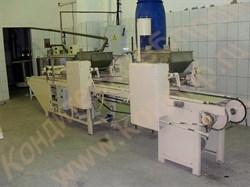 Отливочная машина ШОЛ-2М-К для производства корпусов конфет в крахмал (двухголовочная) - фото 7011