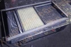 Устройство  ручной струнной  резки кондитерских пластов из сбивных масс типа «птичье молоко», суфле, пастилы, мармелада на корпуса конфет - фото 7043