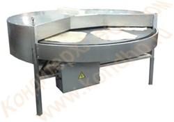 Печь подовая круглая вращающаяся электрическая для выпечки лаваша, питы, пиццы - фото 7053