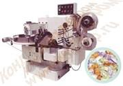 Автомат завертки карамели в одинарн,двойной перекрут NBT-820