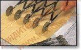 Ножи для резки и надрезки теста, валки для вырезки треугольных заготовок