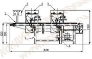 Машина для отливки конфет в силиконовые формы ШОЛ-2М-С
