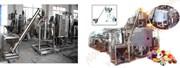Система AWDMS500-1000 автоматического взвешивания, смешивания и растворения партии масс для отливки конфет
