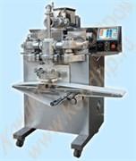 Автоматы экструзионно-формующие для производства изделий с однослойной и двухслойной начинкой 2-х/3-х бункерные AYB – 50/180