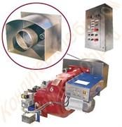 Топочные блоки в сборе и газовые горелки блочные ГБГ к печам ФТЛ-2; ХПА-40 и другим печам различной модификации