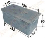 Формы литые алюминиевые для выпечки тостового хлеба