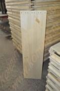 Лоток деревянный для отсадки половинок зефира в форме «ракушка» на  машинах  А2-ШОЗ; К 33
