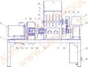 Дробилка универсальная роторная вафельной продукции ДР-100