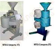 Мельницы для получения пасты из орехов МПО-2 (1П; 1П-ВД; 2П; 2П-ВД)
