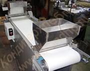 Машина для гильотинной резки пластов кондитерских масс, батонов (полубатонов) мармелада (дозатор+устройство посыпки)